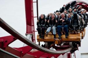 Vuoristorata Roller Coster Kööpenhaminan Tivoli