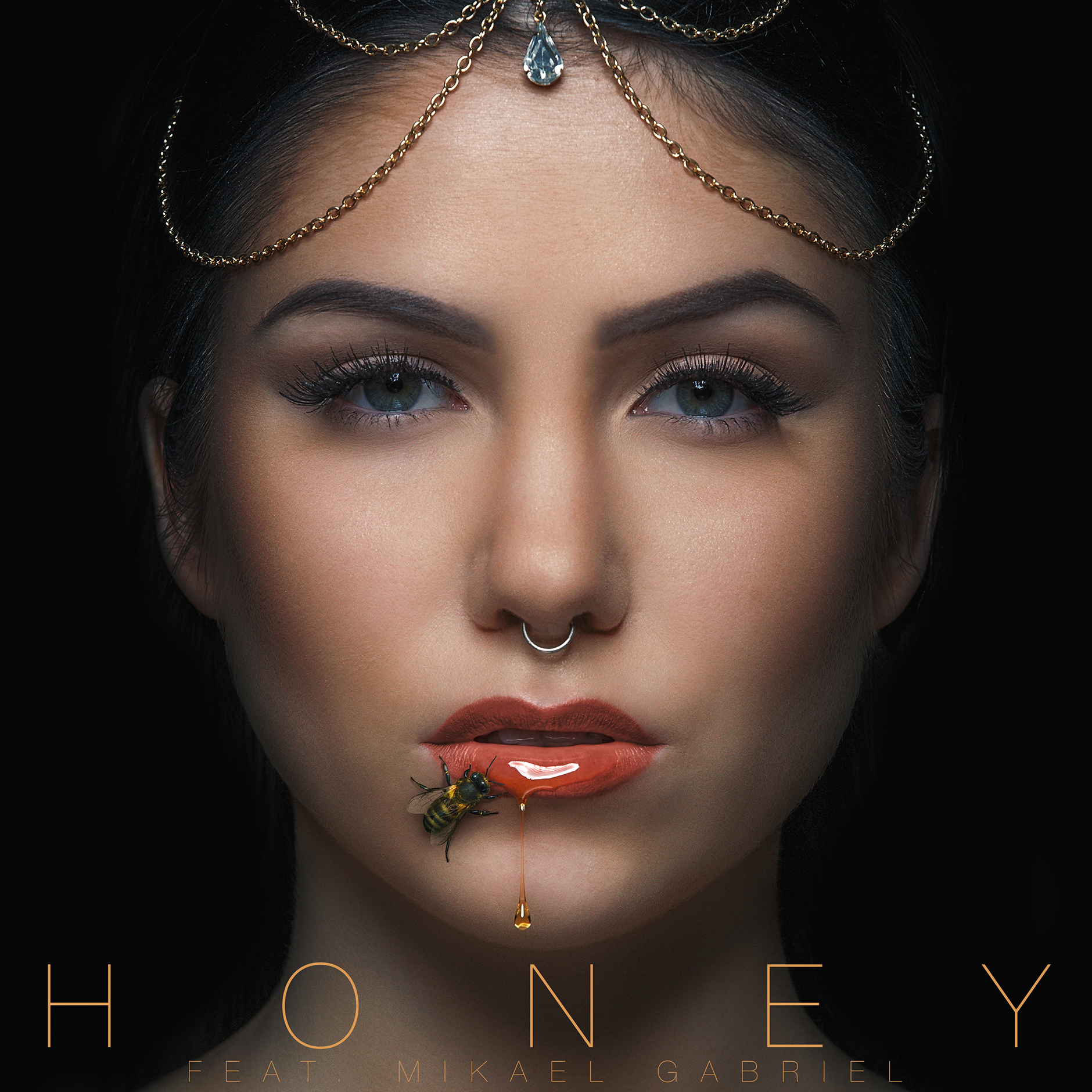 Evelina - Honey -singlen kansi