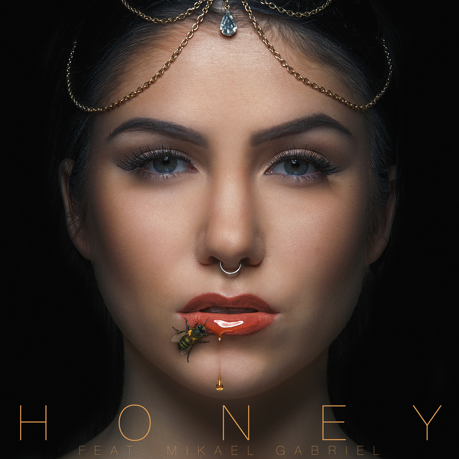 Evelina - Honey -singlen kansi